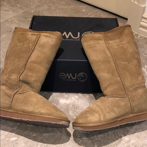 799d4683270 Emu Shoes | Womens Stinger Hi Sheepskin Boots 10 | Poshmark